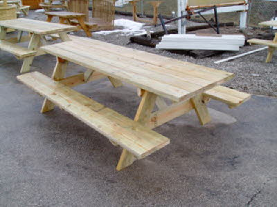 8' BENCH TABLE